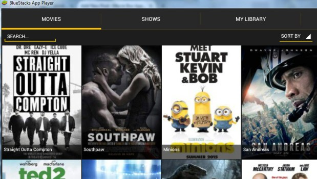 Movie Box for Windows 10