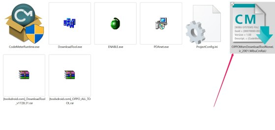 Oppo MsmDownload Tools