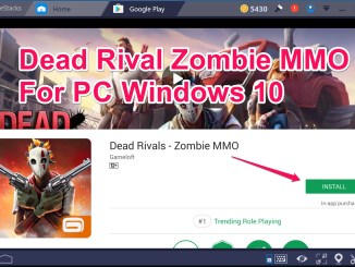 Dead Rival Zombies MMO Laptop Desktop Free Download