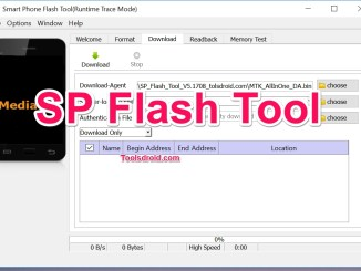 SP FLash Tool MTK Mediatek
