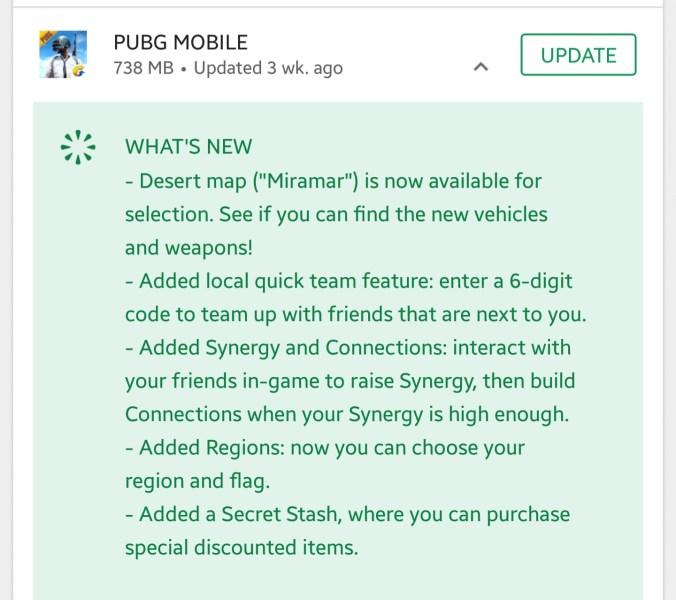Pubg Mobile 0.5 Apk whats new