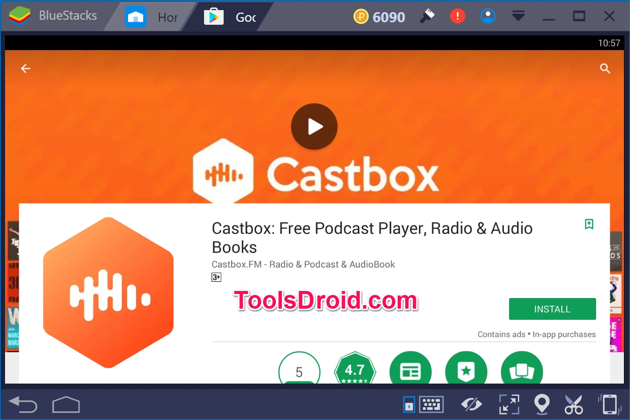 Castbox for PC Windows 10  [Free Podcast Player, Radio