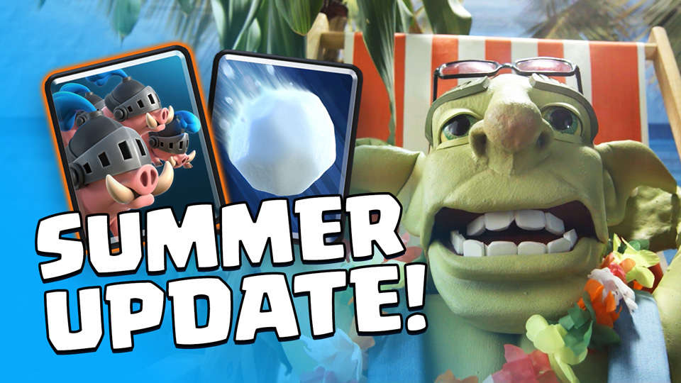 Clash Royale 2 3 1 Apk [Summer Update with Giant SnowBall
