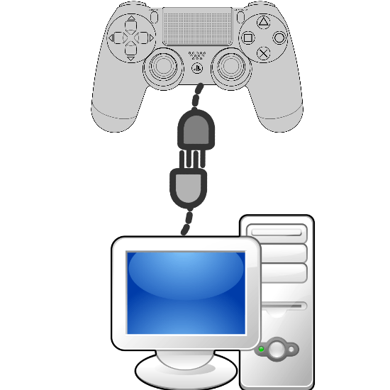 Dualshock 4 to a PC