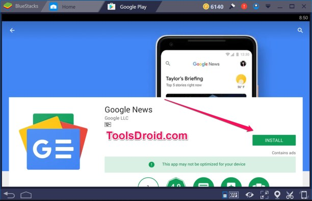 Google News Windows 10