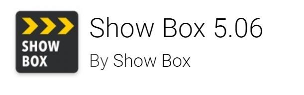 Showbox 5.06 Apk Downlaod