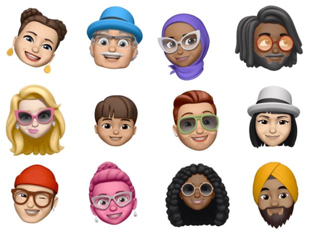 iOS 12 emojis ipsw