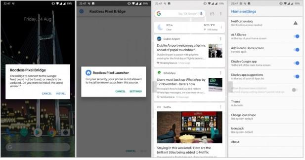 rootless pixel launcher apk 2018