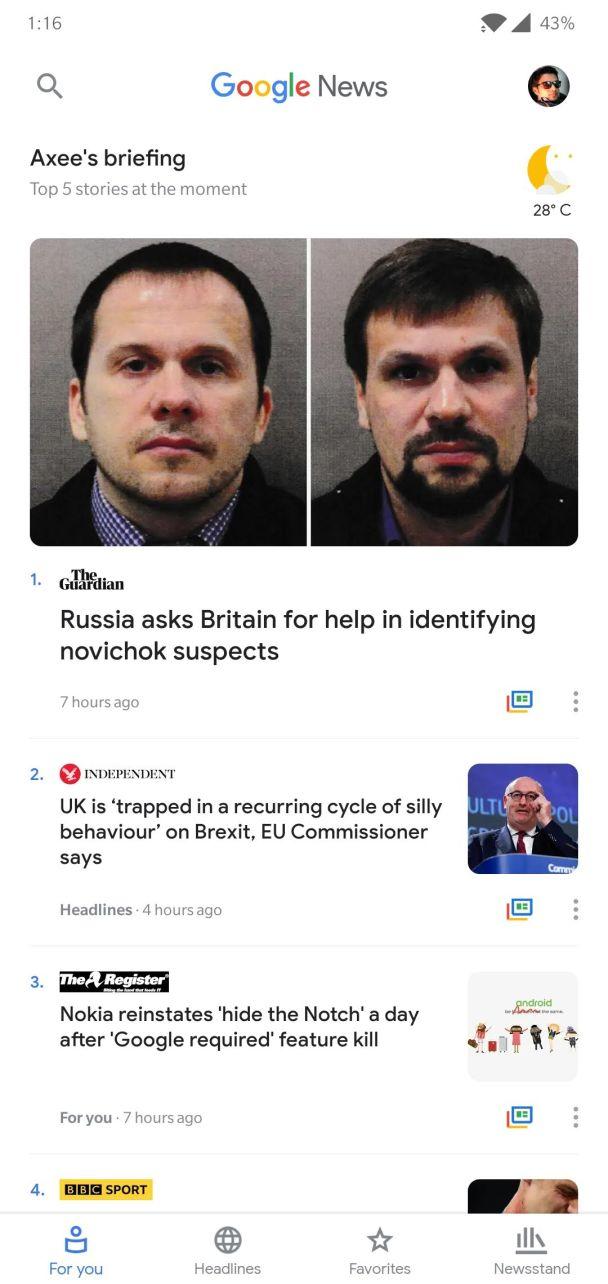Google News 5.4.0 Apk