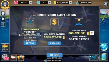Airlines Manager Tycoon 2018 Mod apk v2 7 24, Unlimited Money