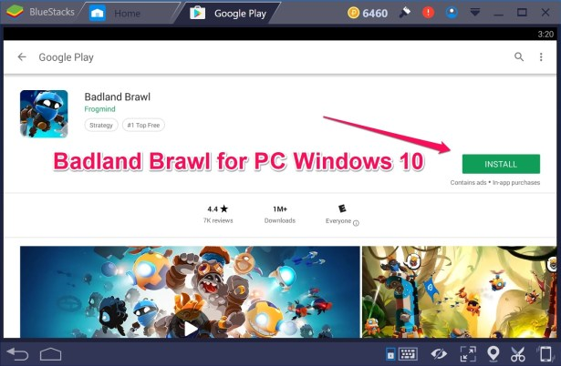 Badland Brawl for PC Windows 10 Mac