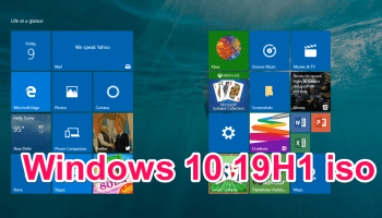 Download Windows 10 version 1903 with update assistant tool