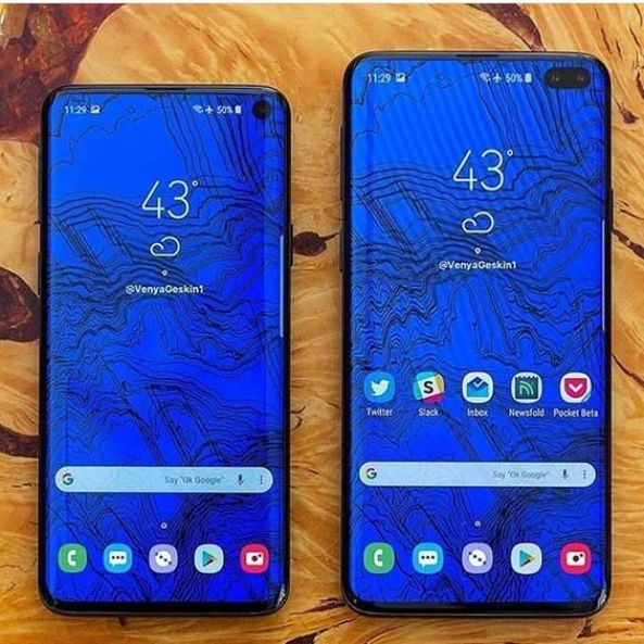 Galaxy S10 and S10 Plus