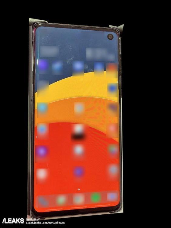 Samsung Galaxy S10 leaked