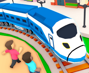 Idle Sightseeing Train Mod Apk