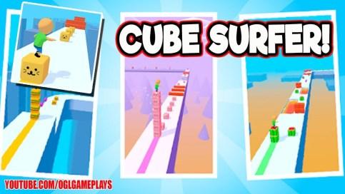 Cube Surfer Mod Apk
