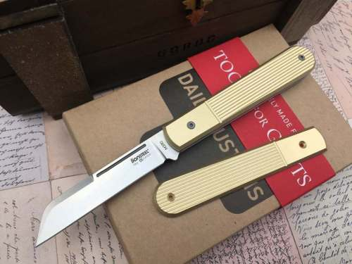 lionsteel_collectorknives_Roundhead_shuffler_dom-Daily-Customs-Scales-TFG-Edition_brass_copper_titanium