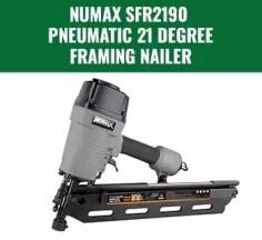 21 Degree Framing Nailer