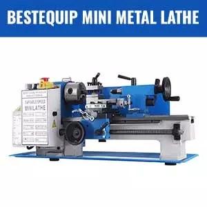 BestEquip Mini Metal Lathe