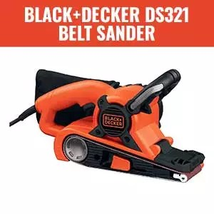 BLACK+DECKER DS321 Belt Sander with Dust Bag