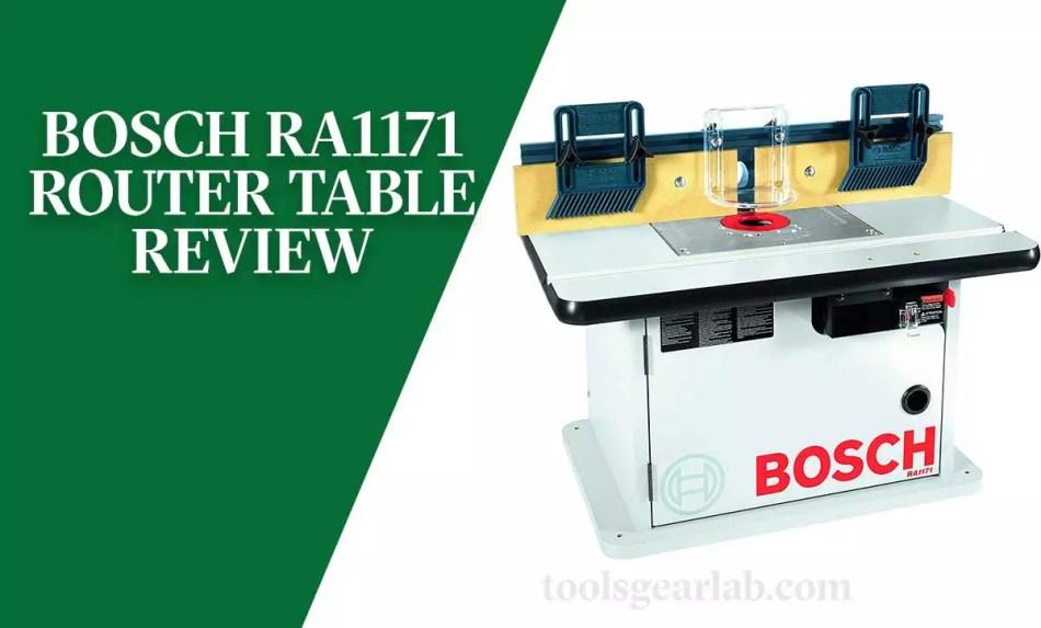 Bosch RA1171 Review