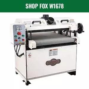SHOP FOX W1678 Drum Sander