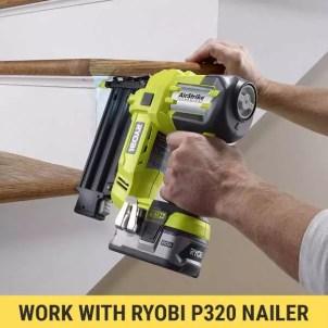 Ryobi P320 brad nailer review