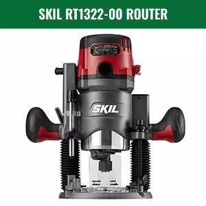 Skil RT1322-00 Plunge and Fixed Base Router Combo