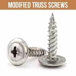 Modified Truss Screws