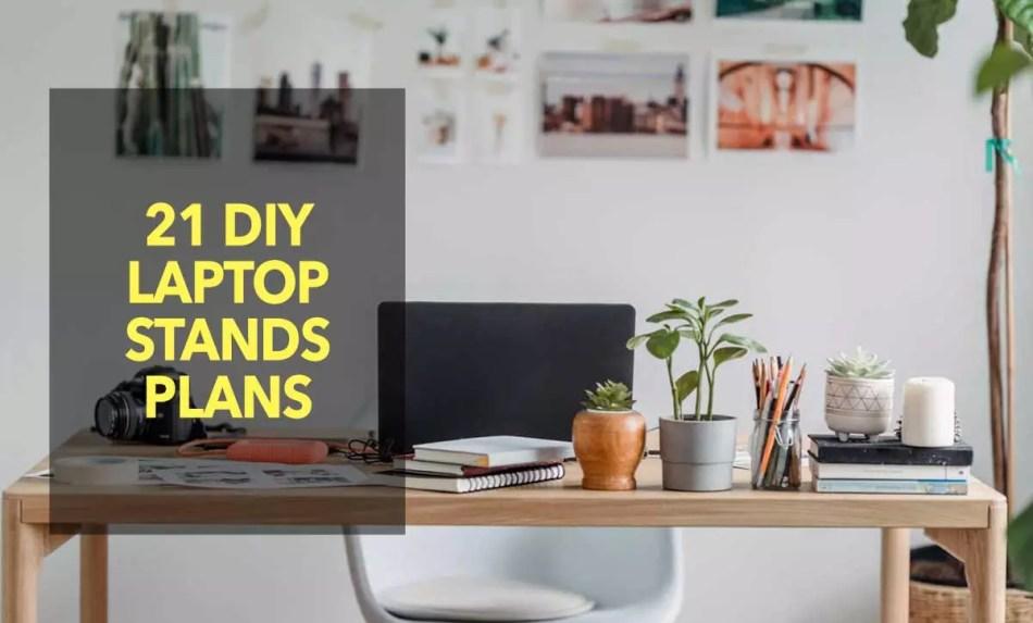 DIY Laptop Stands Plans