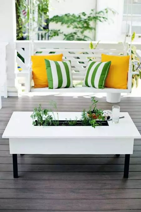 Herb Garden Coffee Table Plan