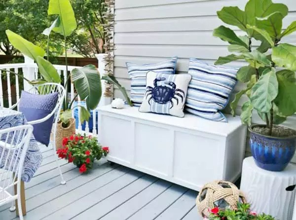 Outdoor Storage Box and Bench