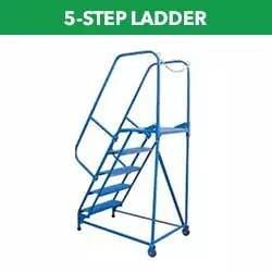 5-Step Portable Ladders