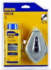 IRWIN Tools STRAIT-LINE 64499 Aluminum Refillable Chalk Line