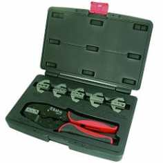 Astro 9477 Professional Quick Interchangeable Ratchet Crimping Tool Set