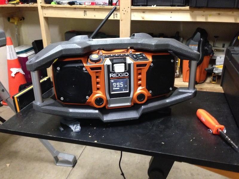 Home Depot Ridgid Radio