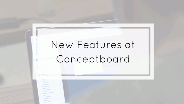 new features at conceptboard