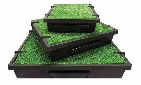 PetSafe Pet Loo Portable Indoor/Outdoor Dog Potty, Alternative to Puppy Pads