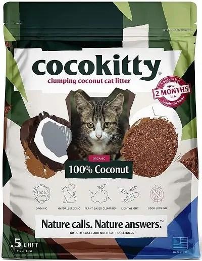 Cocokitty Flushable Hypoallergenic Lightweight Kitty Litter
