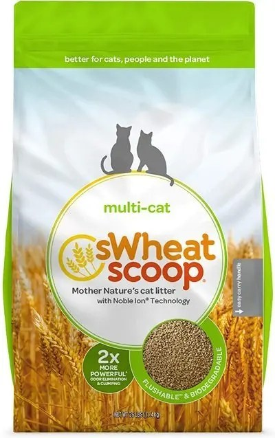 sWheat Scoop Natural Multi-Cat Litter
