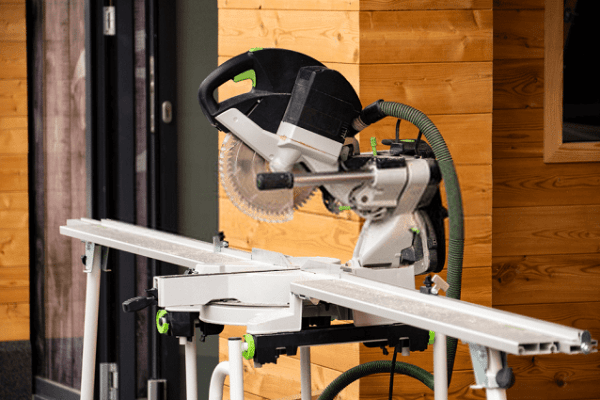 Miter Saw on the Stand