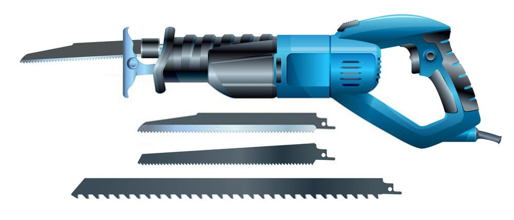 Best Cordless Reciprocating Saw Vector