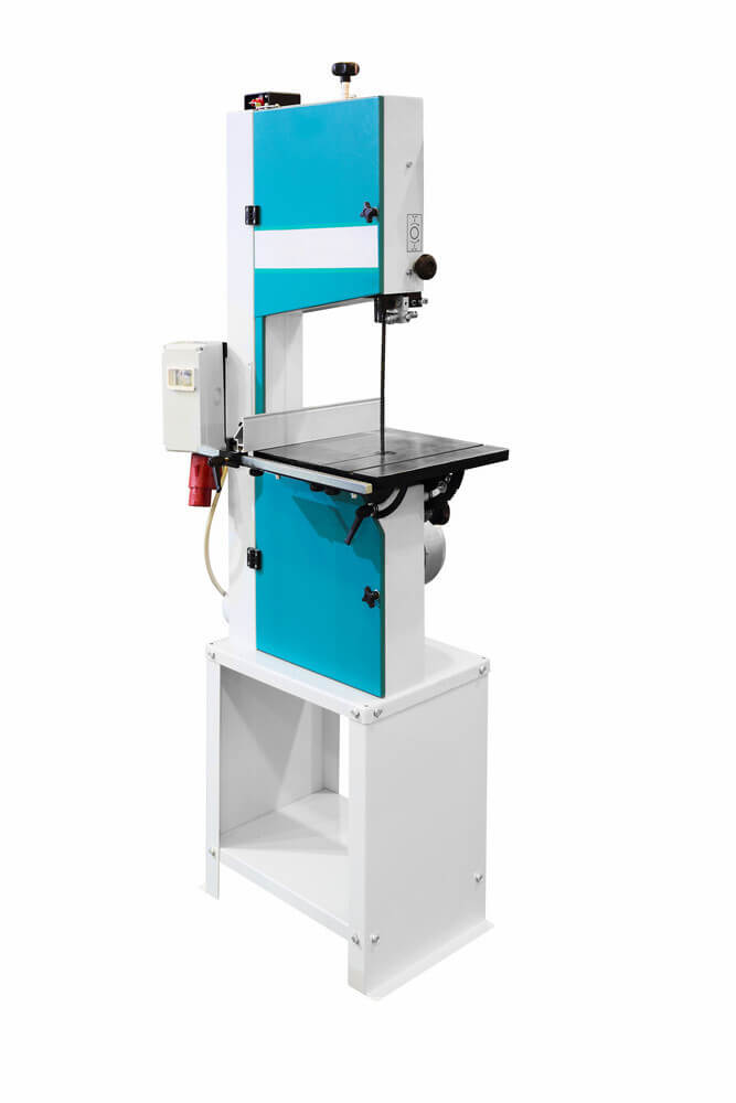 A band saw in white background
