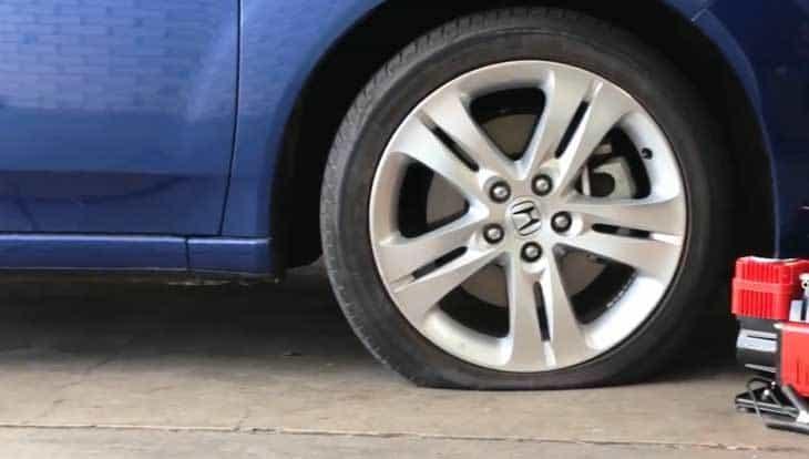 Check The Tire Condition
