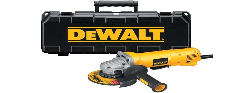 DEWALT D28402K 4-1/2-Inch Small-Angle Grinder Kit Review