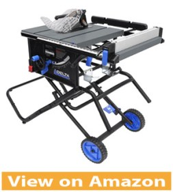 Delta Power Tools 36 6020 10 Portable Table Saw with Stand