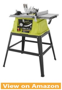 Ryobi ZRRTS10G 15 Amp 10 in. Table Saw with Steel Stand
