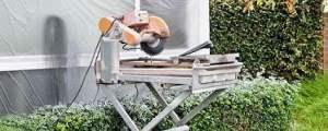 Set Up a Tile Saw