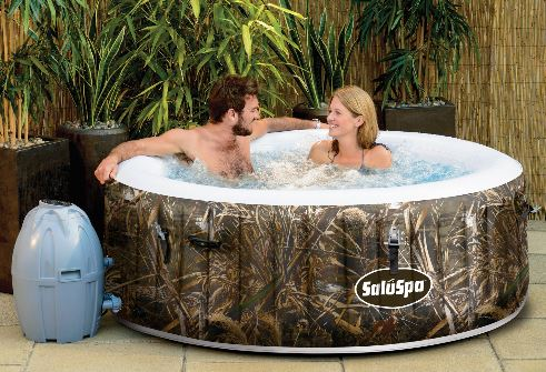 inflatable spa
