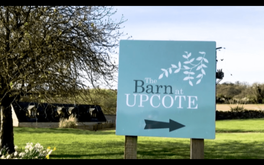 Upcote Barn welcome